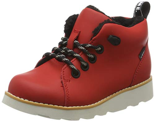 Clarks Jungen Crown Tor K Klassische Stiefel, Rot (Red Leather Red Leather), 29 EU
