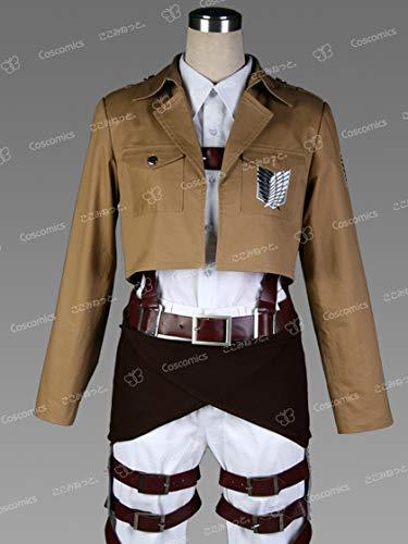 コスプレ衣装◇ここみねっと。製 進撃の巨人 調査兵団服ベルトセットM エルヴィン ハンジ ミカサ アルミン