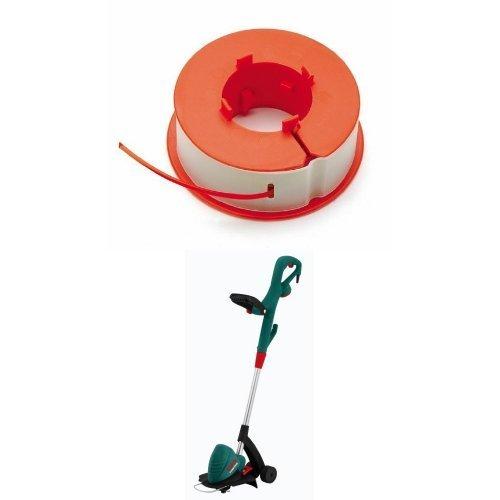 Bosch F016800175 - Bobina hilo pro-tap para EASYTRIM y COMBITRIM + Bosch B0007P253S - Cortaborde eléctrico de jardín