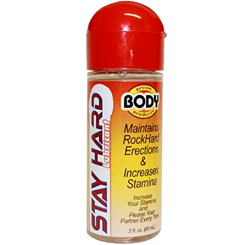 Body Action Stay Hard Lubricant - 2.3 oz