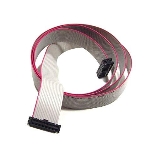 Cable plano conector de 16 pines para conectar la pantalla a la placa centralita Micronova para estufas de pellets Longitud 150 cm.