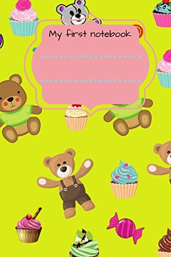 Sweet teddy bear notebook: pink composition