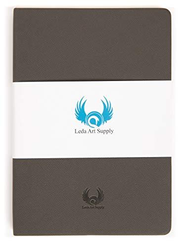 Leda Art Supply 耐性のある160枚プレミアムクオリティースケッチブック 中