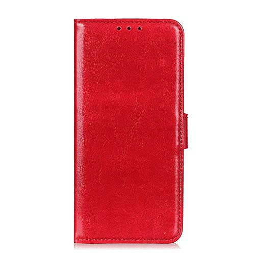 Leather Cover Compatible with Samsung Galaxy S20, Extra-Protective Card Holders Kickstand red Wallet Case for Samsung Galaxy S20