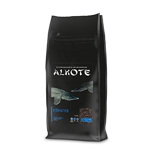 AL-KO-TE, 4-Jahreszeitenfutter für Zierstöre, Sinkende Pellets, 3 mm, Hauptfutter Premium, 3 kg