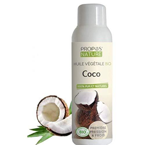 PROPOS'NATURE - Aceite vegetal de coco ecológico (30 ml)