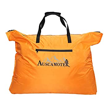 Auscamotek Scent Control Bags for Hunting Clothes and Accessories Water-resistant Blaze Orange 33 x24 inches  2 pack