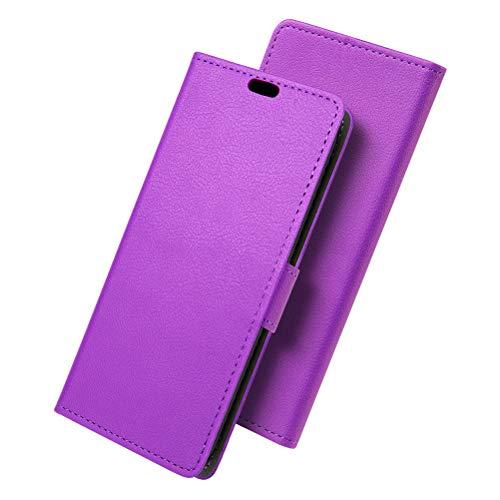 SLEO Cover per Samsung Galaxy S11 Plus/S11+ Custodia PU Pelle Premium Portafoglio Protettiva Wallet Case 2-Scheda Slot Morbido Impermeabile Antipolvere Protezione - Viola
