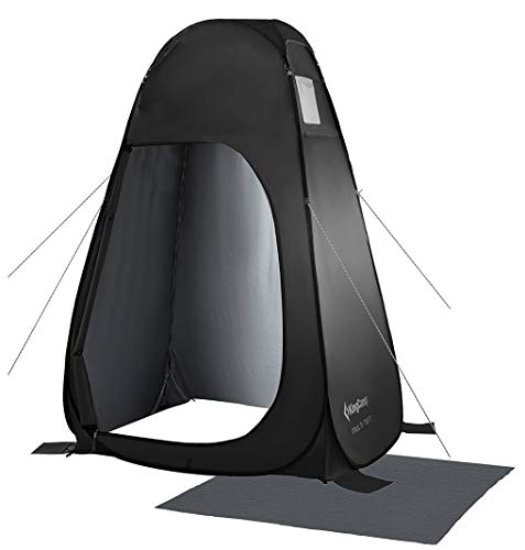 KingCamp Pop Up Dressing Changing Tent Shower Room Detachable Floor