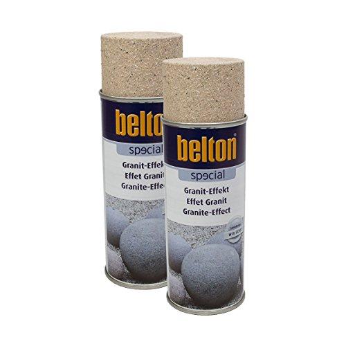 Preisvergleich Produktbild Kwasny 2X 323 353 Belton Special Granit-Effekt Travertinbraun 400ml