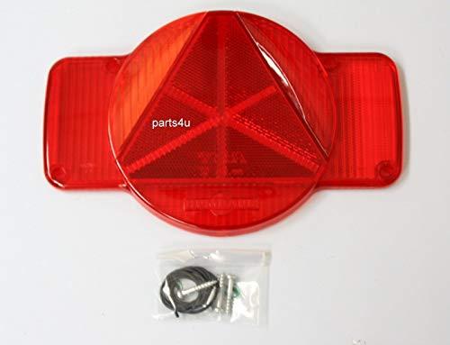 Original Humbaur Lichtscheibe links Blink Stand Bremslicht Licht Nebelschlußlicht 12V PKW Anhänger Trailer