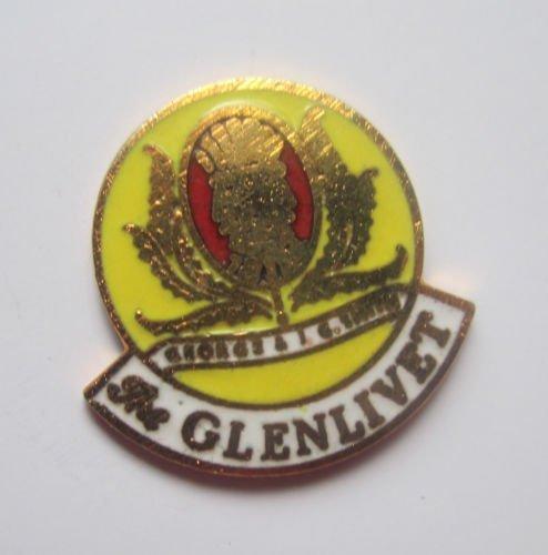 1000 Flags schottischen Whisky Glenlivet Bier-Badge Brosche