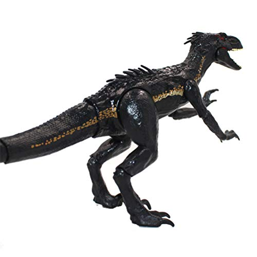 Glacie 15cm Jurassic Dinosaurs Toy Joint Movable Action Figure Walking Dinosaur Toy for Kids Indoraptor Dinosaur Figure Classic Toys for The Dino Lovers and The Coolest Gift for The Boys