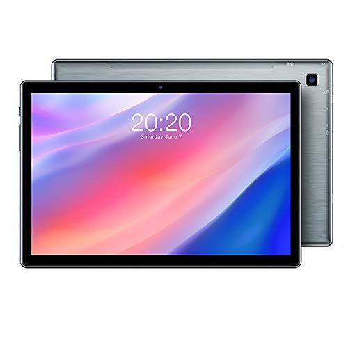 tablet PC PC con Android 10.0 de 10 Pulgadas Procesador Octa-Core 4GB RAM 64GB Almacenamiento 1920 * 1200 Pantalla IPS Bluetooth 5.0 de Doble Banda 2.4G + 5G WiFi GPS 4G PC