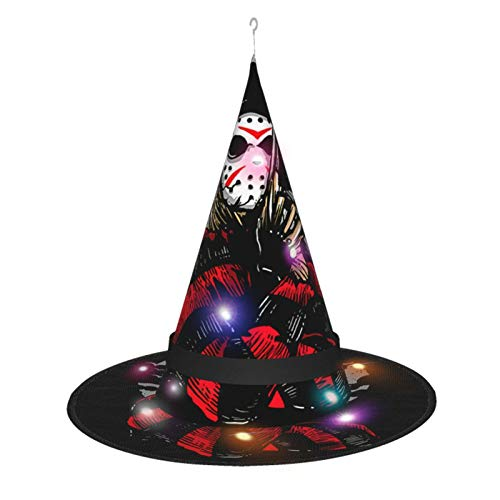 Review Halloween Horror Movie Freddy Decorations Witch Hat 1 Pcs/2pcs/5pcs/7pcs Witches Hat String L...