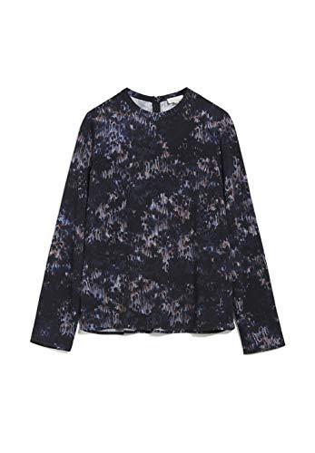 ARMEDANGELS SADJAA Frost - Damen Bluse aus LENZING ECOVERO L Black Bluse Langarm...
