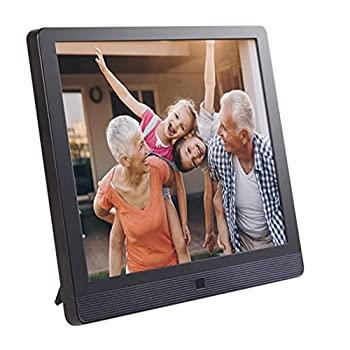 Pix-Star 15 Inch Wi-Fi Cloud Digital Photo Frame FotoConnect XD with Email Online Providers iPhone & Android app DLNA and Motion Sensor  Black