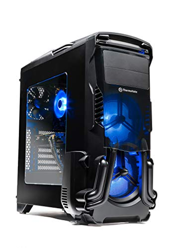 SkyTech Rampage - Gaming Computer PC Desktop – Ryzen 5 1600 6-Core 3.2 GHz, NVIDIA GeForce GTX 1060 3GB, 500G NVMe PCIe SSD, 16GB DDR4, AC WiFi, Windows 10 Home 64-bit (16GB Version)