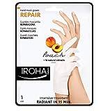 Iroha 2 masques régénérants à la pêche pour les mains Format gants