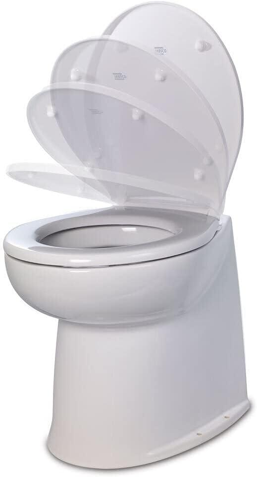 Jabsco Max 48% OFF Deluxe Flush Electric Toilet Vertical S 17