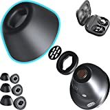 CharJenPro Foam Ear Tips Compatible with Galaxy Buds Pro and Jabra 85t. No Silicone Ear Tip Pain. Ear Tips Compatible for Galaxy Buds Pro Foam Ear Tips and Jabra 85t Replacement.