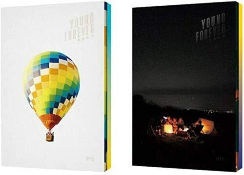 BIGHIT BTS Young Forever (versión de día + juego de versión nocturna) en el estado de ánimo para el amor especial Bangtan Boys Álbum 4 CDs + 2 pósteres + 2 libros de fotos + 2 tarjetas Polaroid + regalo (juego de 6 tarjetas fotográficas extra)