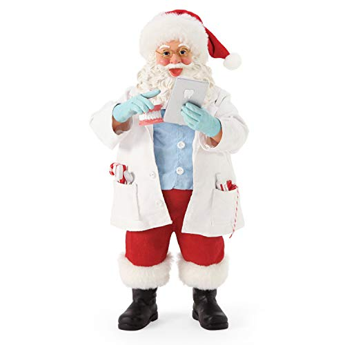 Department 56 Possible Dreams Santa Sports and Leisure First Impression Figurine, 10.5 Inch, Multicolor