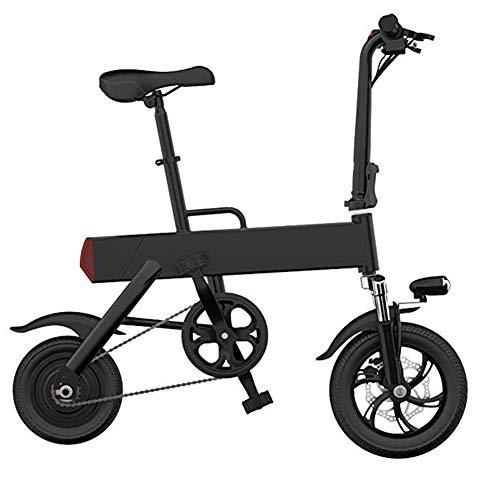 Joyfitness Mini Plegable Bicicleta eléctrica pequeña batería del Coche Hombres y Mujeres...