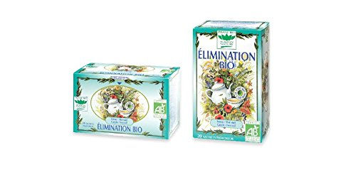 Romon Nature- Tisane Bio Elimination. 2 boites de 20 sachets
