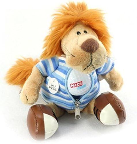 almacén al por mayor oro Ball Ball Ball Keeper Rag doll Lion 34cm  100% garantía genuina de contador