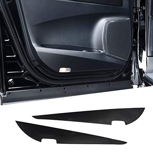 ドアキックガード トヨタ アルファード 30系 トヨタ ヴェルファイア 30系 専用 ドアトリムカバー ドアキックマット フロントドアガード ドアガードステッカー ドアプロテクトシート キズ防止カバー