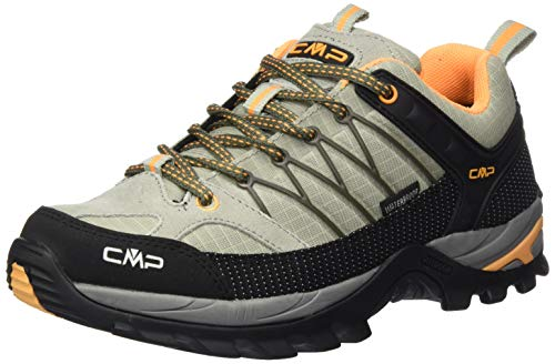CMP – F.lli Campagnolo Rigel Low Wmn Trekking SH, Zapatillas de Senderismo para Mujer, Verde Sage Solarium 06fe, 39 EU