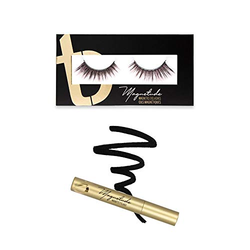 Pynk Mynk Magnetic Lashes & Magnetic Magnetude Liner LIMITED EDITION Bundle by Tori Belle (Black Classic Waterproof)