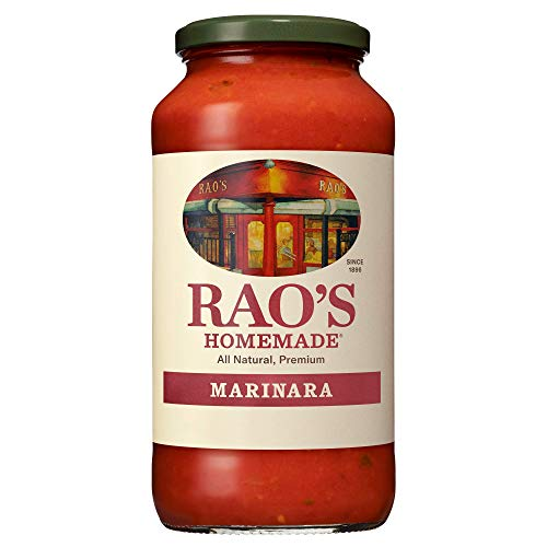 Rao's Homemade Marinara Sauce, 24 oz, All Purpose Tomato Sauce, Pasta Sauce, Carb Conscious, Keto Friendly, All Natural, Premium Quality, With Italian Tomatoes & Olive Oil