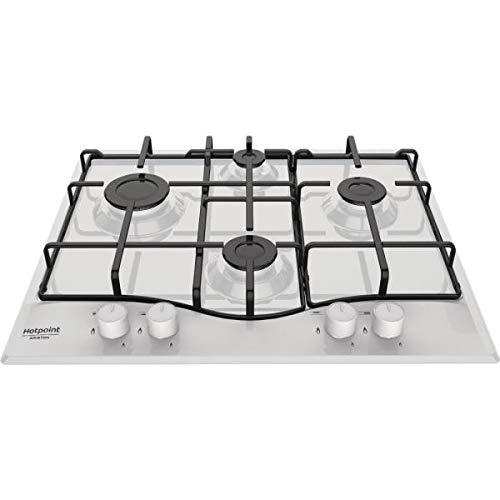 Hotpoint PCN 642/HA(WH) WE 4 brûleurs à gaz, Blanc