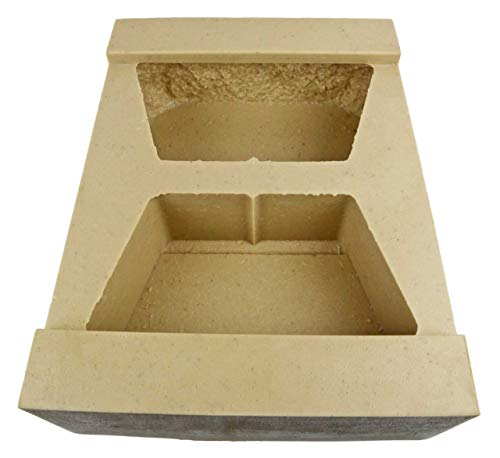 """Veneer Stone Rubber Molds for Concrete, Retaining Wall Block 11.5"""", Recycled Material"""