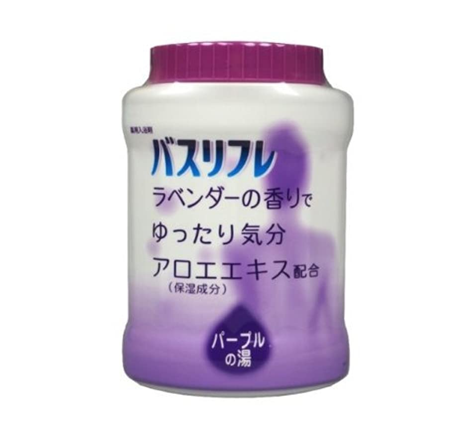 リハーサルレンジナサニエル区バスリフレ 薬用入浴剤 ラベンダーの香り 680G Japan