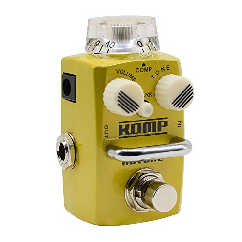 Hotone Skyline Komp Analog Opto LA2A Optisches Kompressor Gitarren Bass Effektpedal