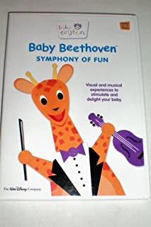 Baby Einstein -- Baby Beethoven -- Symphony of Fun -- Visual and musical experiences to stimulate and delight your baby -- Ages 0-3 years -- DVD