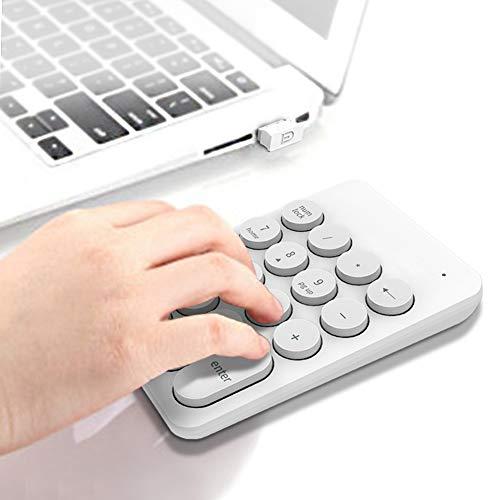 Wireless Keyboard Gaming Keybord Best Gaming Keyboard PC Keyboard for Office(White)