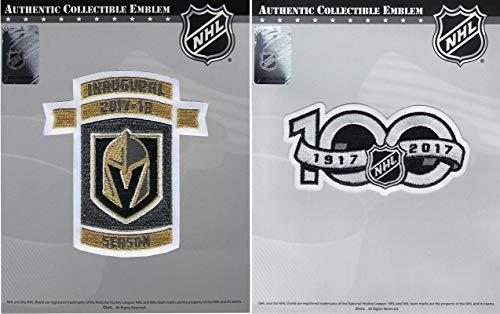 Vegas Golden Knights Inaugural & NHL 100th Centennial Anniversary Jersey Patch
