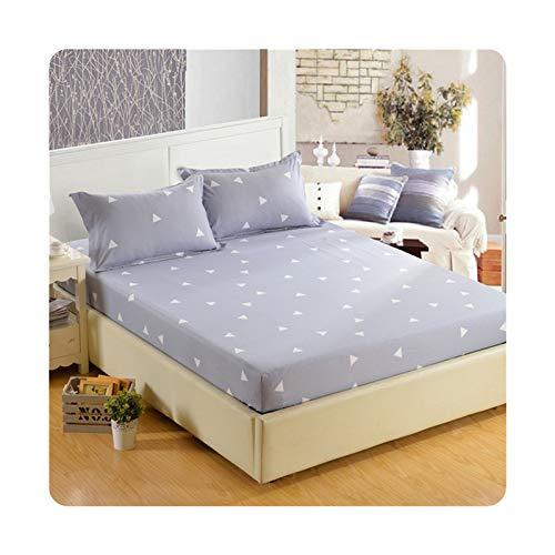 Colorplastic 1 sábana bajera ajustable de tela de cifrado 100% poliéster, con banda elástica ajustable de 200 x 220 cm. Variedad de especificaciones: aidingbao, 100 x 200 x 26 cm