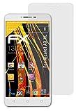 atFolix Panzerfolie kompatibel mit Alcatel A3 XL Schutzfolie, entspiegelnde & stoßdämpfende FX Folie (3X)