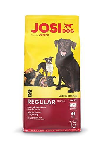 Josera Hundefutter JosiDog Regular, 1er Pack (1 x 18 kg)