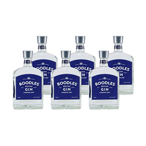 BOODLES British Gin London Dry 0,7 Liter 40% Vol.