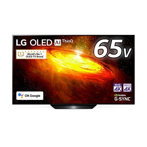 LG 65型 4Kチューナー内蔵 有機EL テレビ OLED 65BXPJA Alexa 搭載 2020 年モデル