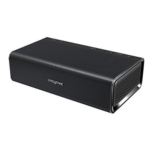 Creative Sound Blaster ROAR Classic Lite - Tragbarer Bluetooth-Lautsprecher (NFC-Funktion, 5 Treiber, integrierter Subwoofer) schwarz