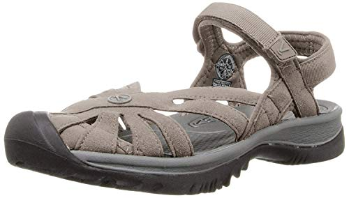 KEEN Women's Rose Sandal, Aluminum/Neutral Gray, 10.5 M US