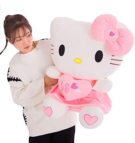 XQYPYL Plüsch Spielzeug Hello Kitty Kuschelig Puppen Hauptdekor Mädchen Kinder Geburtstag Geschenk 30cm-70cm,01,30cm