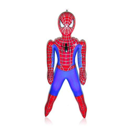 WDK Partner – A1200110 – Freiluftspiel, aufblasbare Figur, Spiderman